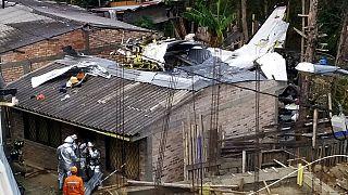 سقوط هواپیما در کلمبیا ۷ کشته برجای گذاشت