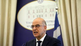 Ο υπουργός Εξωτερικών της Ελλάδας Νίκος Δένδιας