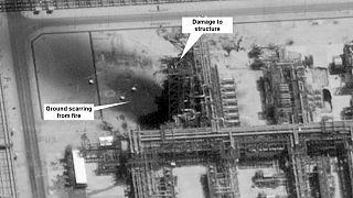 تصویر ماهوارهای از تاسیسات نفتی آرامکو عربستان سعودی