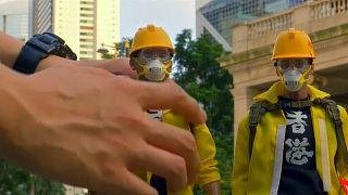 Spielzeughersteller dokumentiert Proteste in Hongkong im Kleinformat