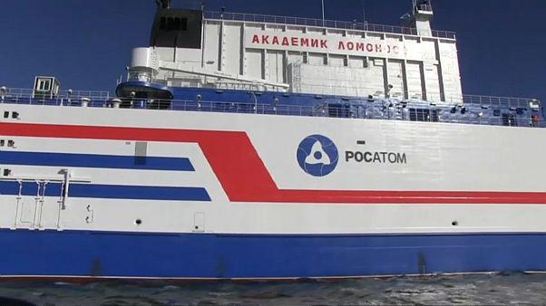 Megérkezett állandó tartózkodási helyére az orosz úszó atomerőmű