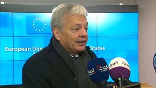 Reynders, un candidato a comisario bajo sospecha