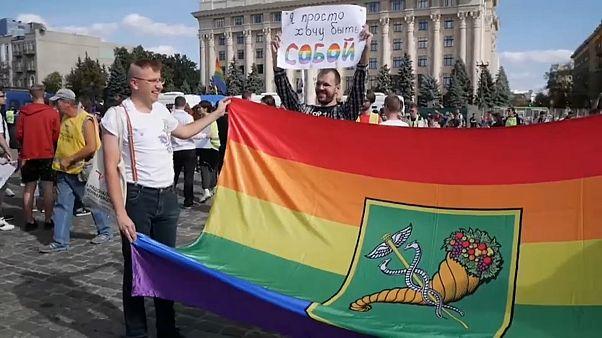 Гей-парады в Харькове и Белграде