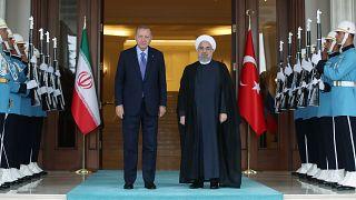 نشست سه جانبه آنکارا درباره ادلب؛ روحانی و اردوغان دیدار کردند