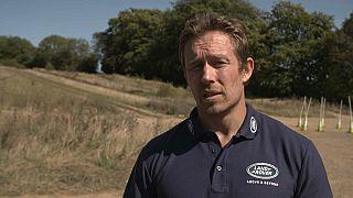 Jonny Wilkinson, una leggenda del rugby inglese.