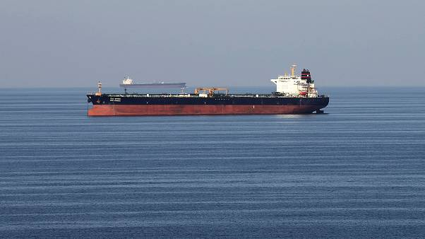 Oil tankers in the Strait of Hormuz on December 21, 2018.