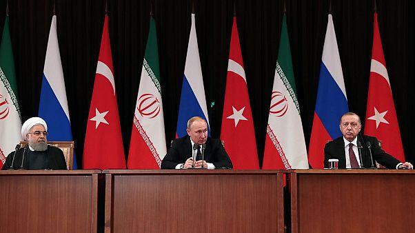 Cumhurbaşkanı Erdoğan, Putin ve Ruhani video konferans yöntemi ile görüşecek: Gündem Suriye krizi