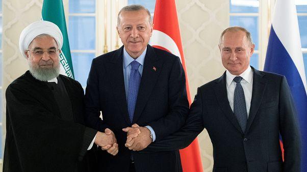 قمة ثلاثية تجمع إردوغان وبوتين وروحاني في أنقرة