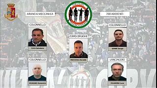 12 líderes das claques da Juventus detidos