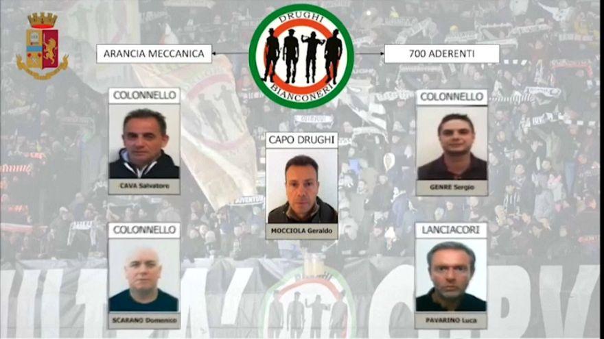 Estorsione alla Juventus e violenze: 12 capi ultras arrestati