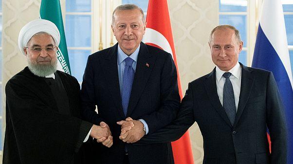 اردوغان: ترکیه، ایران و روسیه باید مسئولیت بیشتری در سوریه برعهده بگیرند