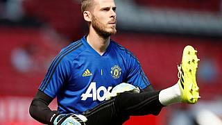 David De Gea in Manchester United-Crystal Palace (1-2), 24.8.2019.