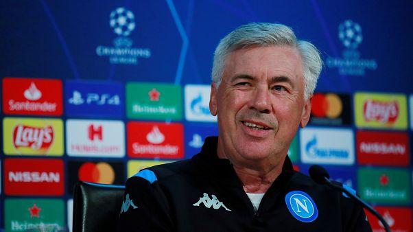 Carlo Ancelotti sembra fare l'occhiolino alla Champions.