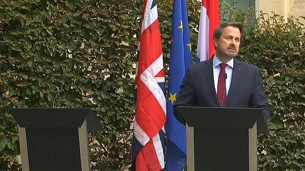 "Boris Johnson: ""Brexit"" spontan in Luxemburg"