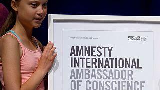 "Amnesty International fait de Greta Thunberg son ""ambassadrice de conscience"""