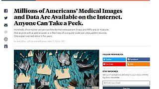 Millionen Patientendaten offen im Netz