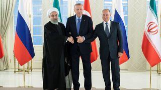 """Iran, Russie et Turquie veulent """"éteindre l''incendie en Syrie"""""""