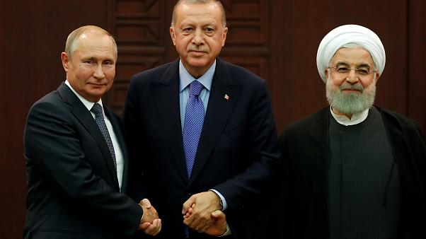 Iran, Russia and Turkey 'agree steps to de-escalate tensions' in Syria's Idlib