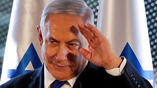 رئيس الوزراء الإسرائيلي بنيامين نتنياهو في 4 أيلول سبتمبر 2019