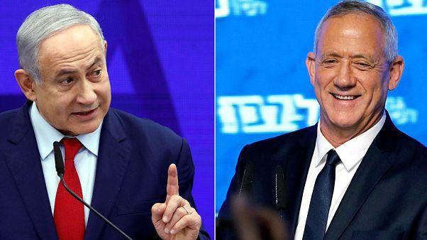 Netanyahu versus Gantz, duelo en las urnas israelíes