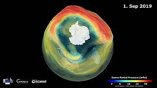 Ozonloch so klein wie seit 30 Jahren nicht - auch dank Klimaschutz