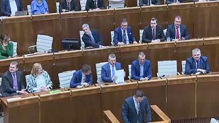 Σλοβακία: Απορρίφθηκε η πρόταση μομφής κατά της κυβέρνησης