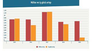 Türkiye İstatistik Kurumu'nun verilerinde nüfus ve işgücü neden aynı seviyede artmıyor?
