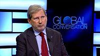 """Johannes Hahn: """"Um Brexit sem acordo terá um impacto muito forte no orçamento"""""""