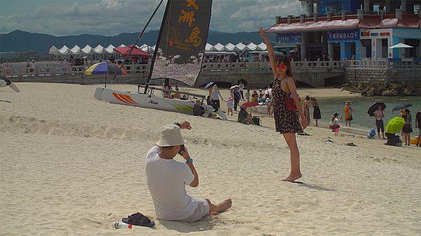 Sanya - tourist activity hotspot in the South China Sea