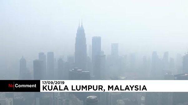 Füstben Kuala Lumpur