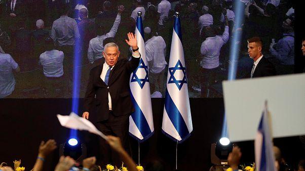 İsrail Başbakanı Netanyahu seçim sonrası ilk konuşmasında 'zaferden' söz etmedi
