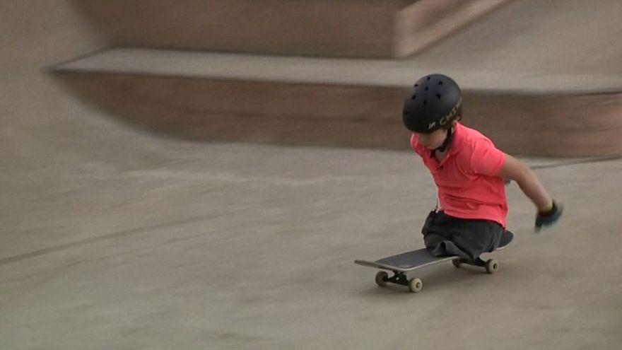 تصویر از ویدیوی رویترز