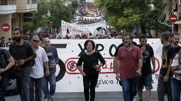 Φωτογραφία από την περσινή πορεία στην Δραπετσώνα και Κερατσίνι