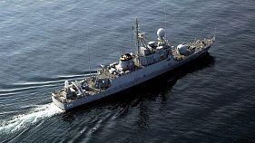 ناو الصدیق نیروی دریای عربستان در خلیج فارس
