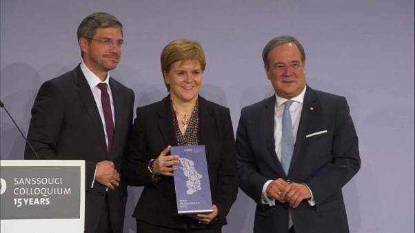 Scotland's Nicola Sturgeon gets award for being 'voice of reason' on Brexit