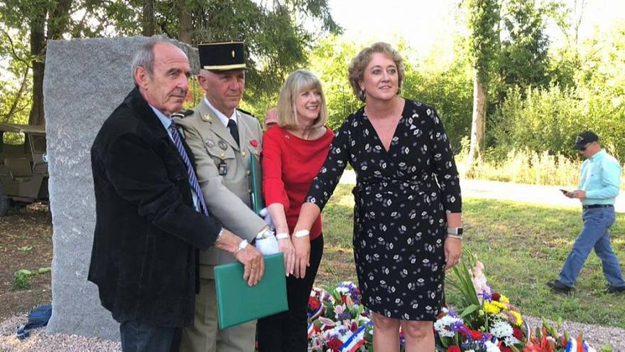 Ceremony honours fallen US soldiers in all-but-forgotten WWII battle