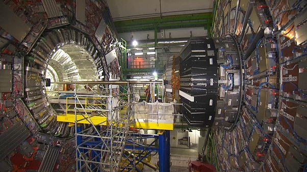 Le Grand collisionneur de hadrons, au CERN.