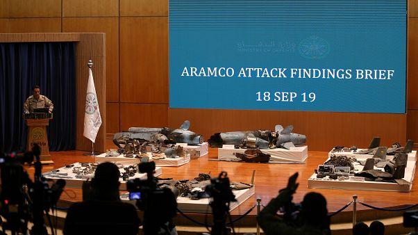 Suudi Arabistan bir basın toplantısı ile saldırının İran destekli olduğunu açıkladı