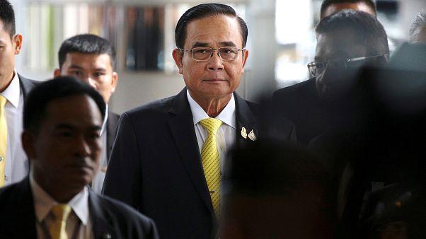رئيس الوزراء التايلاندي براوث تشان أوتشا في بانكوك في 25 يوليو 2019.