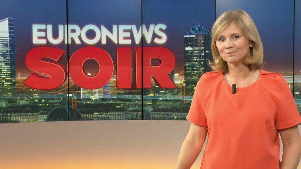 Euronews Soir : l'actualité du mercredi 18 septembre 2019