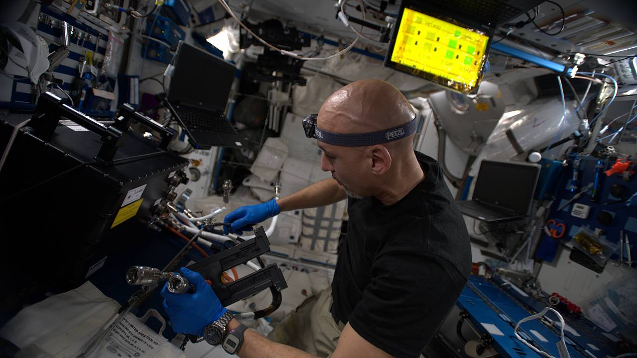 Testing times for the human guinea pigs on ISS