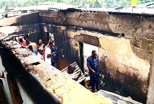 Либерия: трагедия в школе