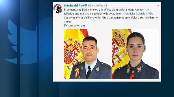Mueren dos militares en otro accidente aéreo en el Mar Menor