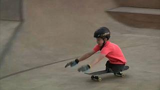 Un pequeño skater, una gigantesca historia