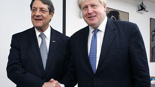 Brexit, ΑΟΖ και Κυπριακό συζήτησαν Αναστασιάδης και Τζόνσον