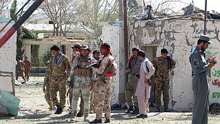 حمله طالبان به بیمارستان قلات در ولایت زابل افغانستان