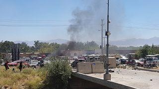 Afganistan'ın başkenti Kabil'in kuzeyinde 17 Eylül'de gerçekleşen saldırı