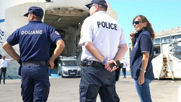 Des combattants étrangers, terroristes présumés, ont traversé la Méditerranée cet été