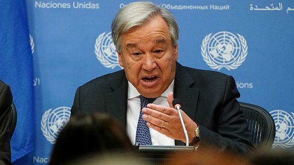 گوترش: طرفین درگیر در سوریه بر سر ترکیب کمیته قانون اساسی توافق کردند