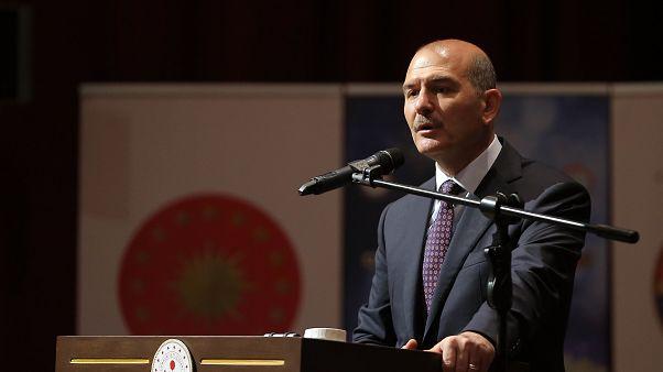 Süleyman Soylu: Müttefikimiz olan ABD, PKK'ya silah hibe ediyor, FETÖ'yu koruyor